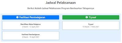 Jadwal Pelaksanaan Program Seri Belajar Mandiri Calon Guru ASN PPPK