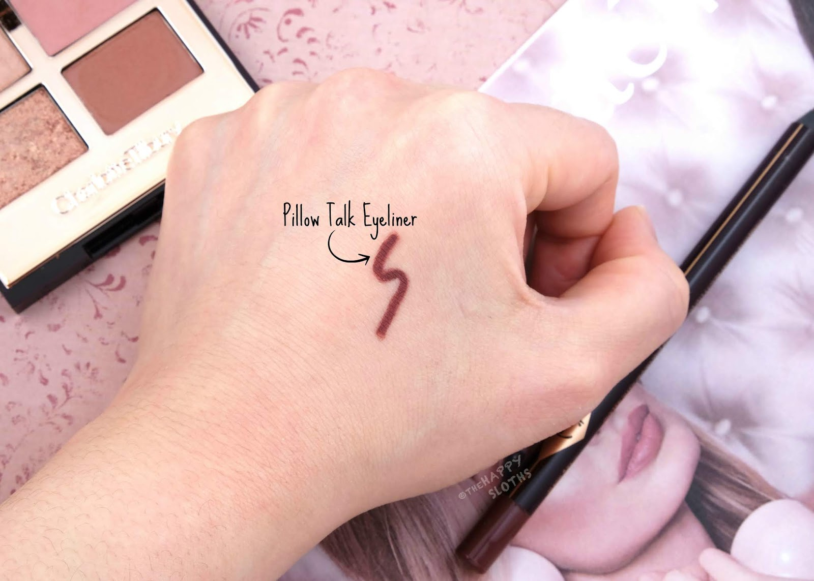 Charlotte Tilbury | Pillow Talk Eyeliner: Review and Swatches