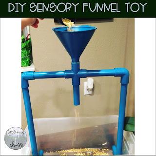 DIY sensory funnel toy