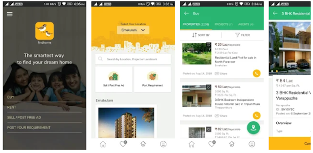 YouthApps -findhome real estate mobile app
