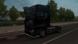 Batman Skin for Mercedes Actros MP4