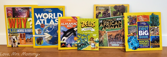 nat geo kids, world atlas, almanac, african animals