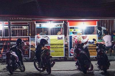 gerobak Lontong Malam Ahmad Yani