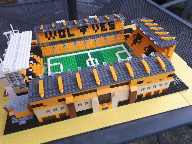 Wolves - Molineux - In Lego!