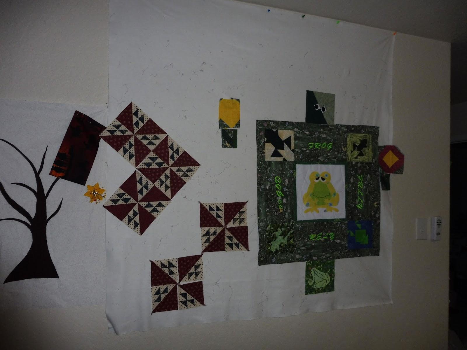 Mel 39 S Quilting Blog Design Wall