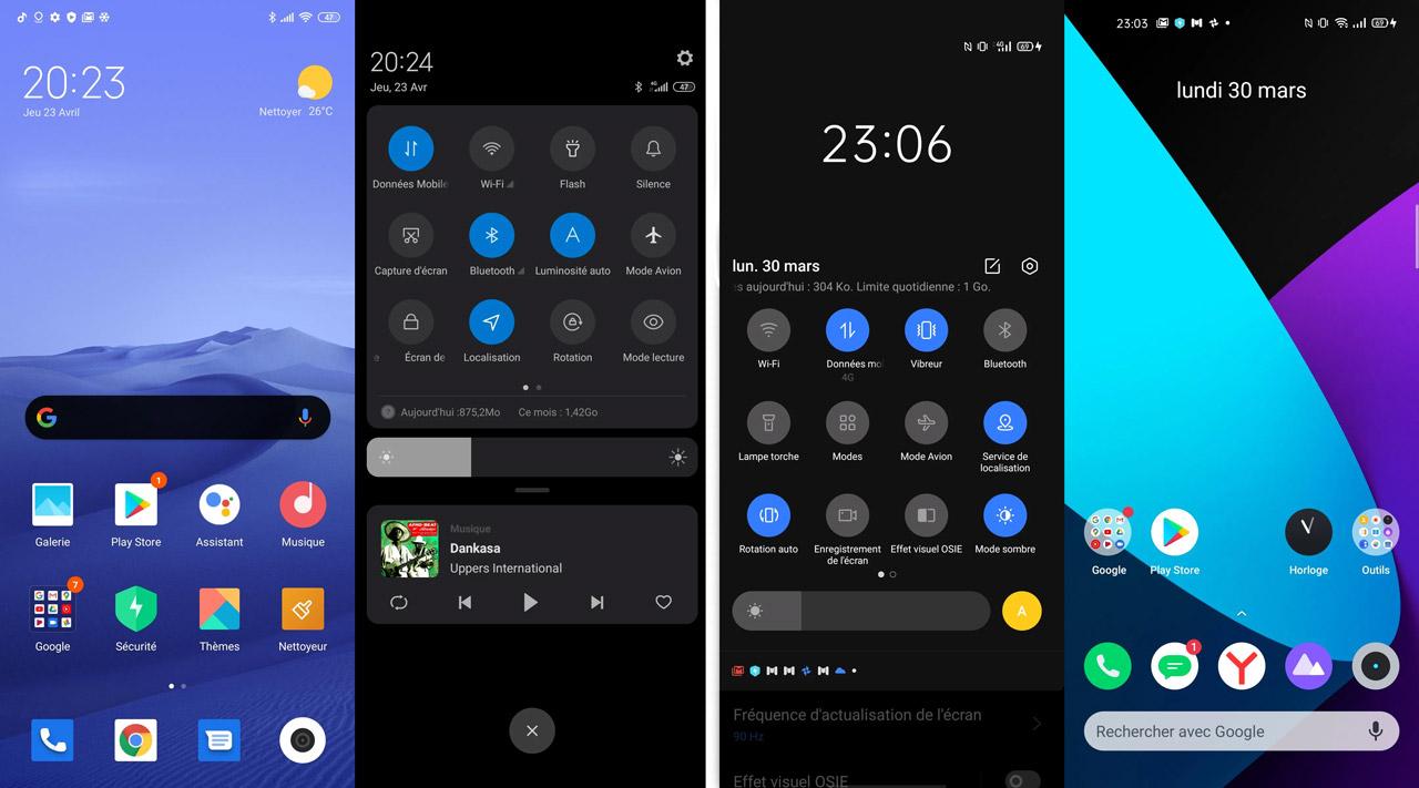 مقارنة Redmi Note 9S و Realme 6 ui