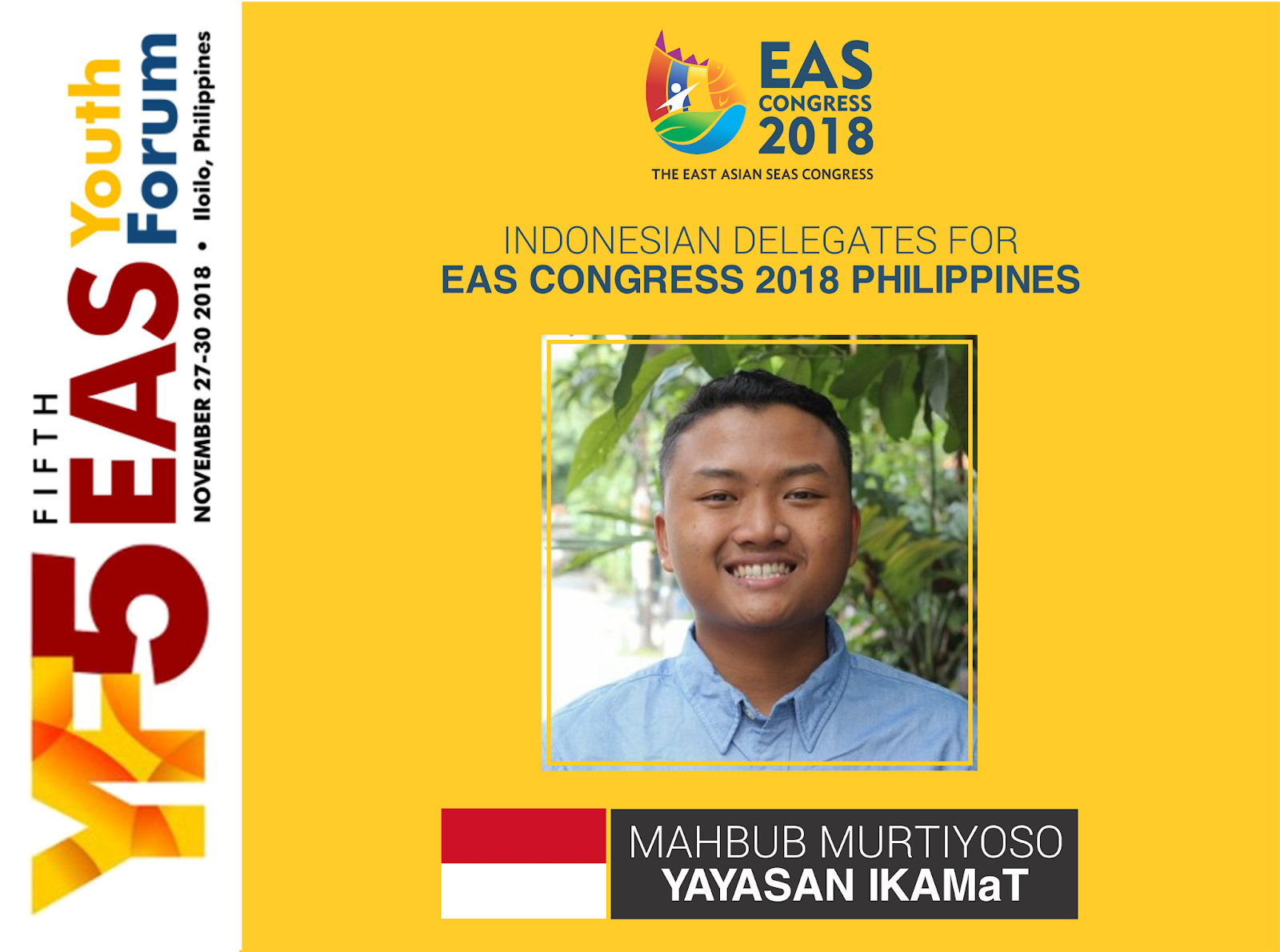 IKAMaT Wakili Indonesia di East Asian Seas Congress 2018 di Filipina