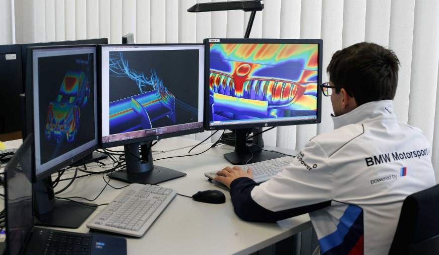 Ο ρόλος των ισχυρών υπολογιστών στην εξέλιξη της BMW M4 DTM: μία λεπτομερής ματιά στην υπολογιστική ρευστοδυναμική