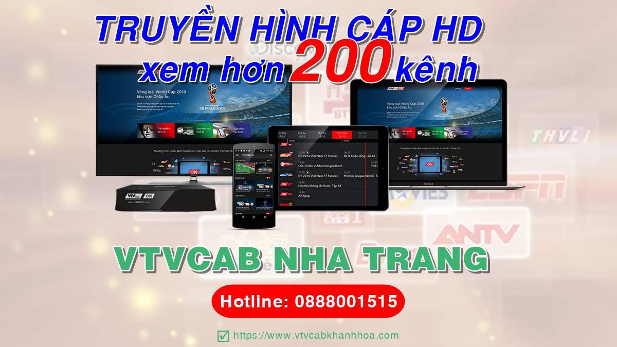 Đơn vị lắp đặt truyền hình cáp VTVCab tại thành phố Nha Trang