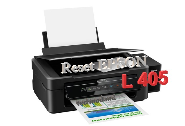 Cara Reset Epson L405 Blinking [Waste Ink Counter Resetter]