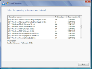 Windows 7 OEM 48 in 1 x86 / x64 Full ISO Link fast