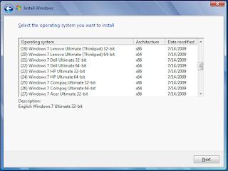 Windows 7 OEM 48 in 1 x86 / x64 Full ISO Link fast