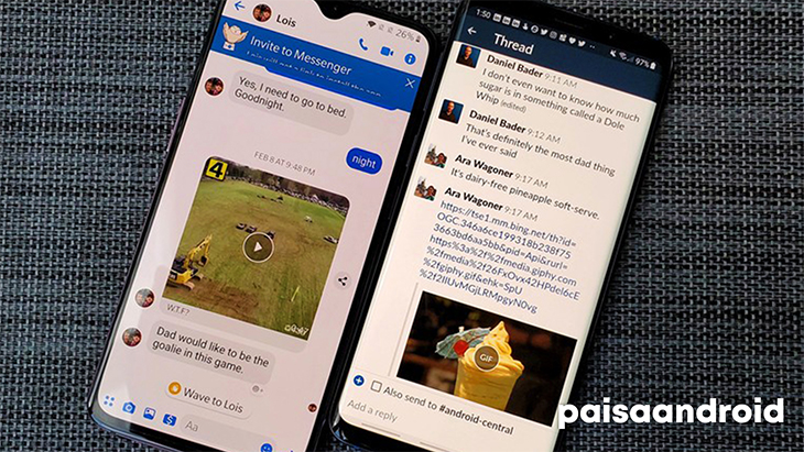 aplicaciones mensajeria android