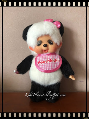 kiki monchhichi  panda pandachhichi kawaii