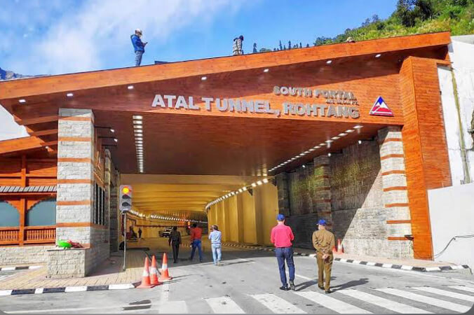 Atal Tunnel Rohtang - World's longest road tunnel in India
