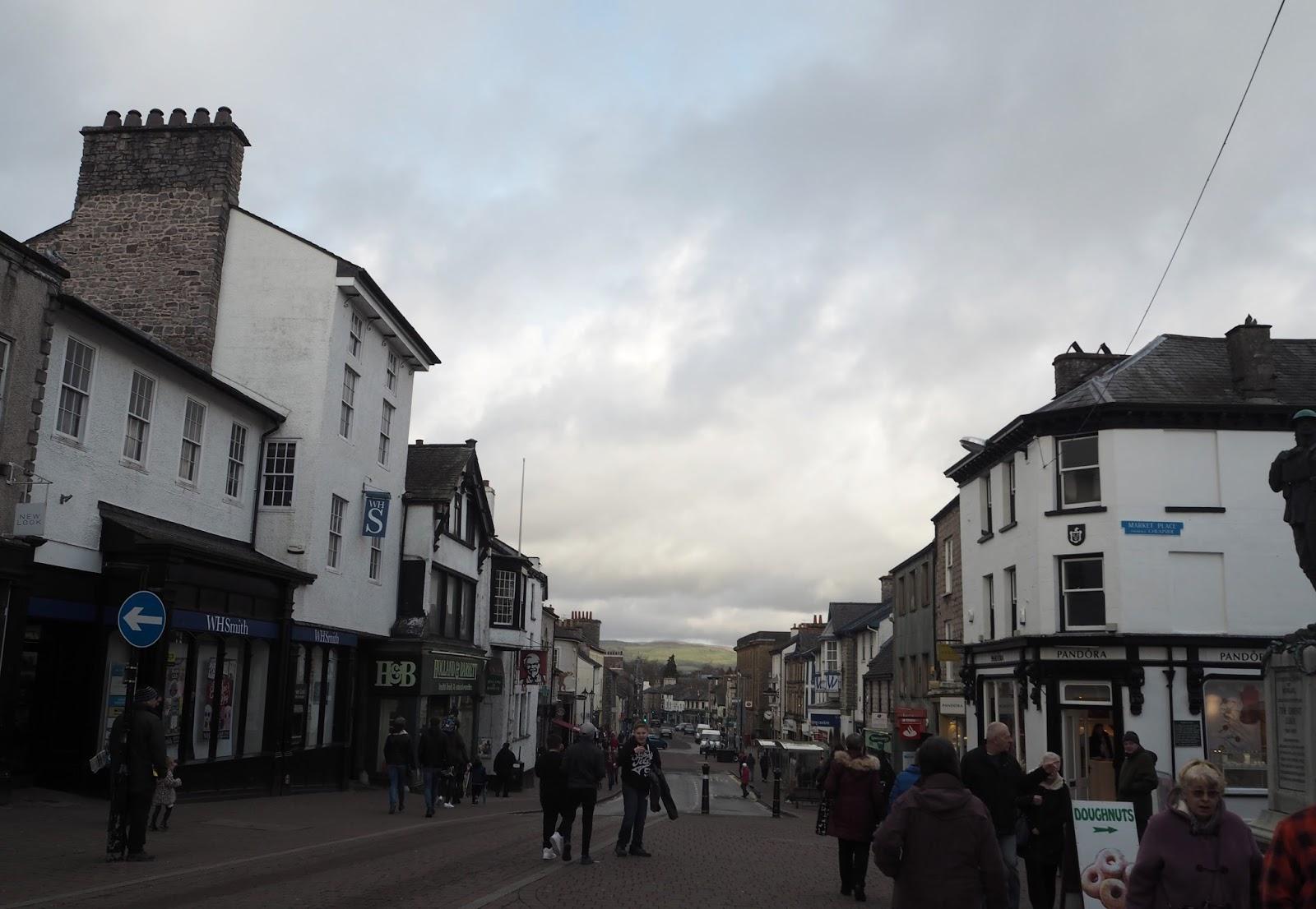 Main shopping street, Kendal
