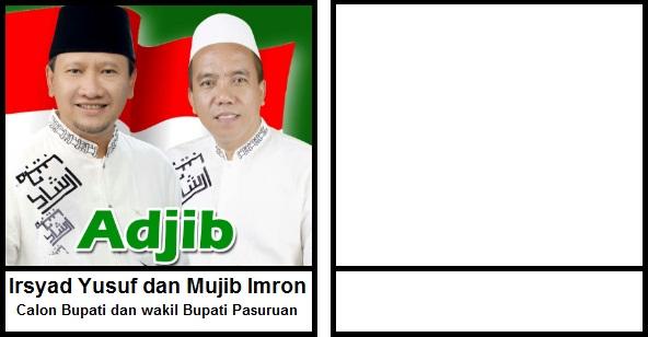 Calon Bupati dan wakil Bupati Kabupaten Pasuruan 2018