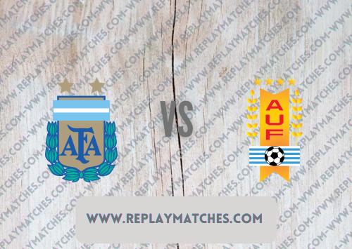 Argentina vs Uruguay -Highlights 19 June 2021