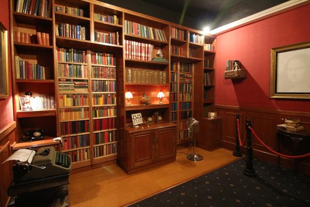 La librería de Curious Corner de Chamarel