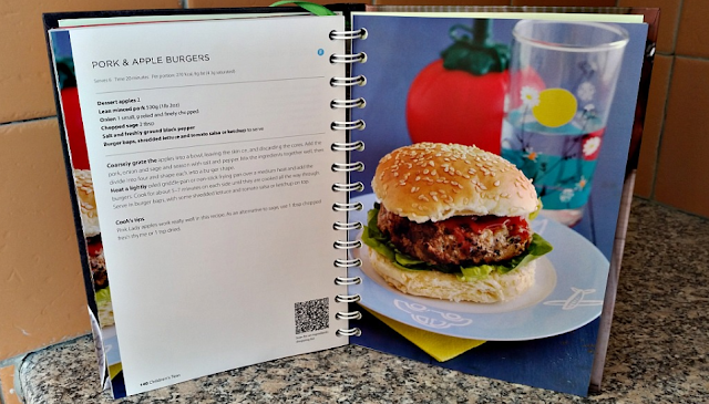 Pork and Apple burgers recipe