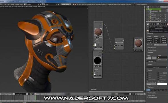 تحميل برنامج Blender | لتصميم صور ثلاثيه الابعاد اخر اصدار مجانا