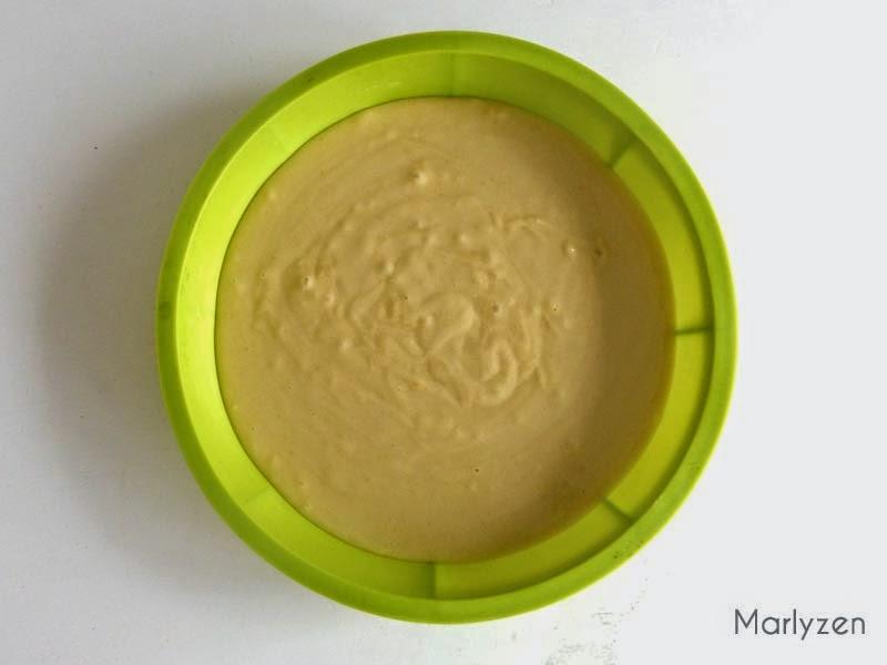 Gâteau au yaourt avant cuisson.
