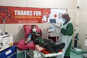 Prajurit Yonif MR 413 Kostrad Donor Plasma Covid-19 Tahap II di Sukoharjo
