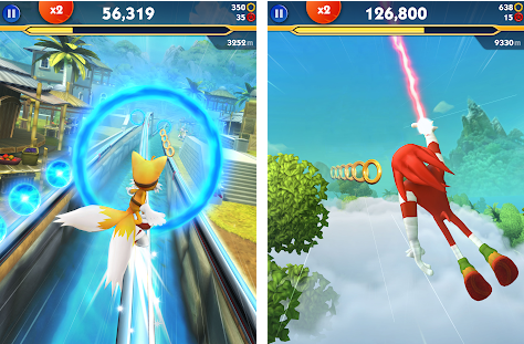 Sonic Dash 2 Screenshot