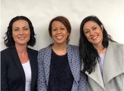 Yvonne Wakefield, Aisha Pandor and Jackie Nagtegaal