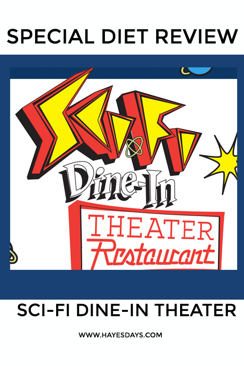 Disney Day: Sci-Fi Dine-In Special Diet Review
