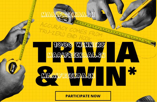 Stanley Trivia Quiz Contest Win Short TAPE FREE