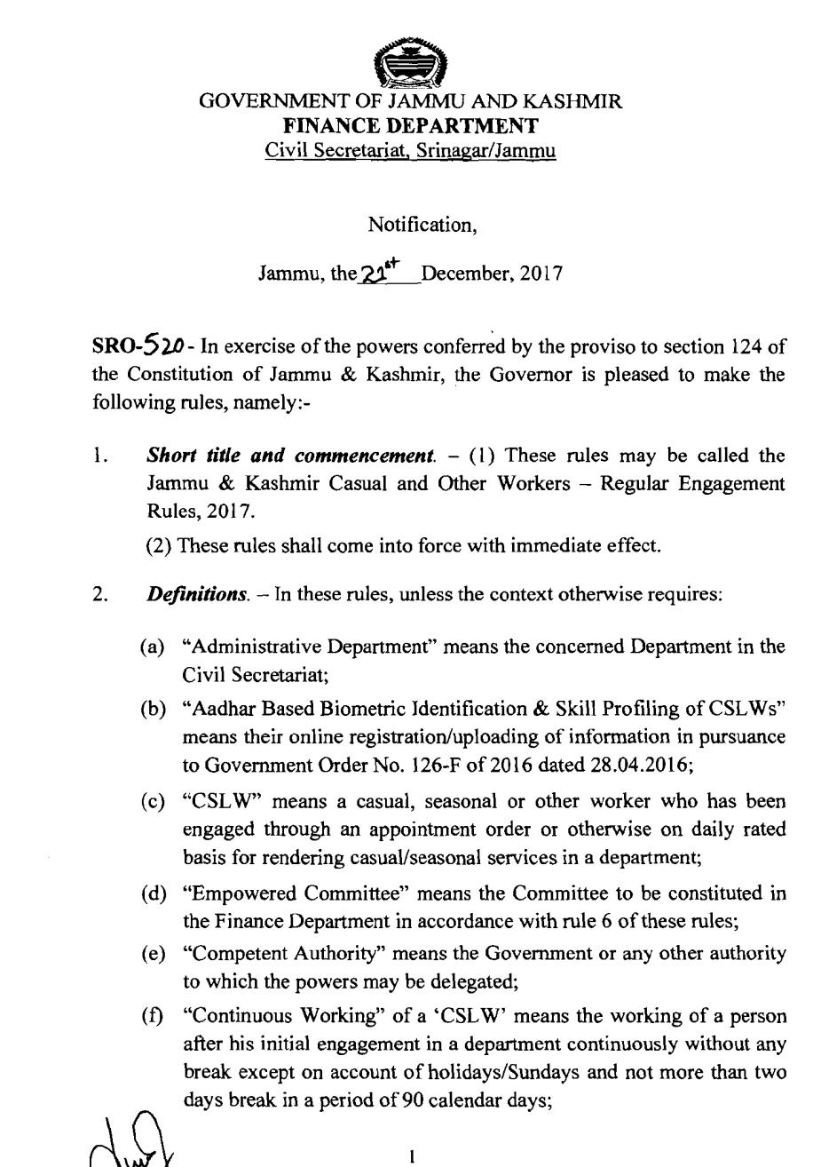 kashmir administrative services syllabus 2017 pdf