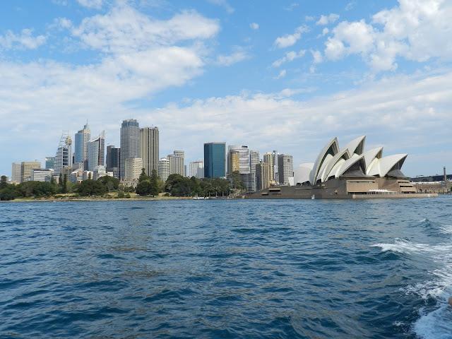 Sydney Opera House e skyline