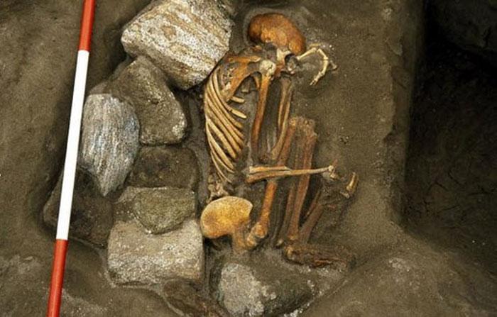 Kerangka Hasil Gabungan dari Beberapa Mayat
