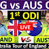 Aus vs Eng 1st ODI 2020 highlights, Maxwell and Zampa made Australia winner
