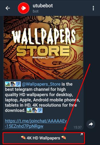 Cara Download Walpaper Hd Di Telegram Blogger Toraja