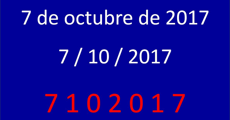 Las Clases De 5º Del Octavio Fecha Capicúa