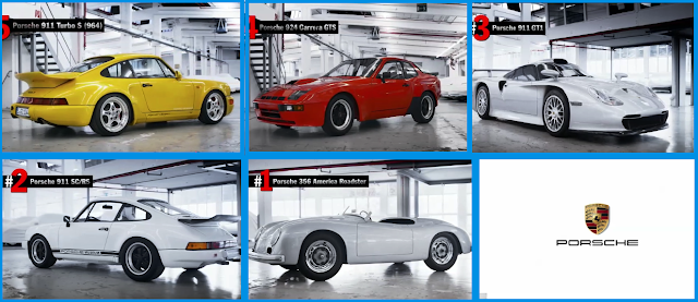 Porsche factory models