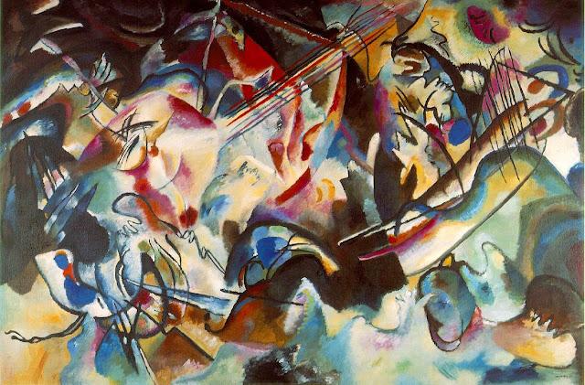 Cuadro del pintor Kandinsky que algunos expertos creen sinestésico
