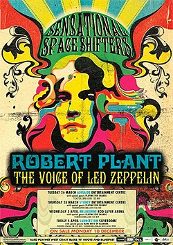 Gira por España de Robert Plant Sensational Space Shifters y North Mississippi Allstars en julio