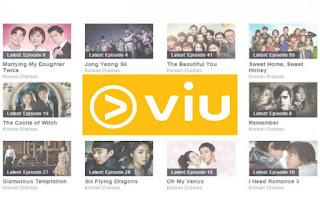 Aplikasi nonton drama Korea Viu