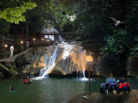 Waterfall Kuta Malaka, Aceh Visit