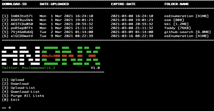 AnonX : An Encrypted File Transfer Via AES-256-CBC