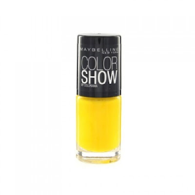 { Nails // Electric Yellow 749 ~ Maybelline }
