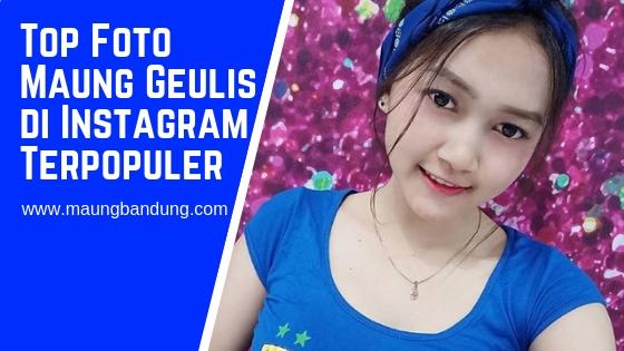 Foto Maung Geulis di Instagram Terpopuler 2019