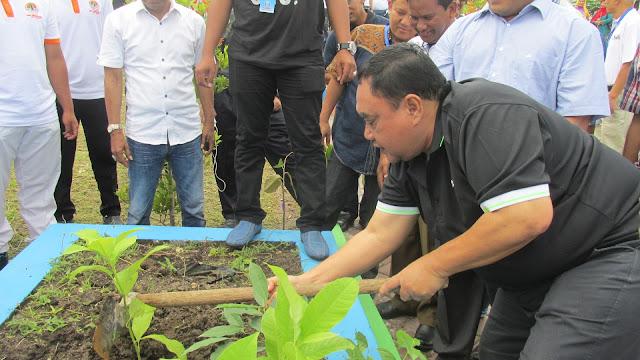 PWI Indonesia Tanam Pohon Khas di Sabang sebagai Kota Hijau