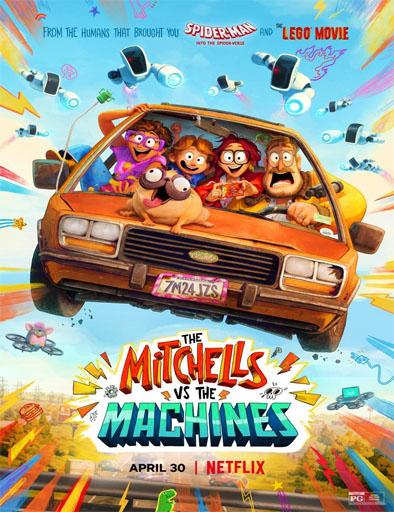 Pelicula La familia Mitchell vs. las máquinas