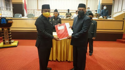 Sah, DPRD Bone Tetapkan Ranperda P-APBD 2020