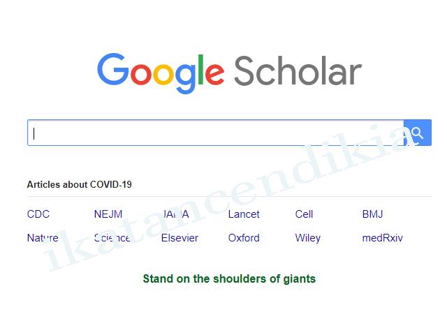 apa itu google schoolar