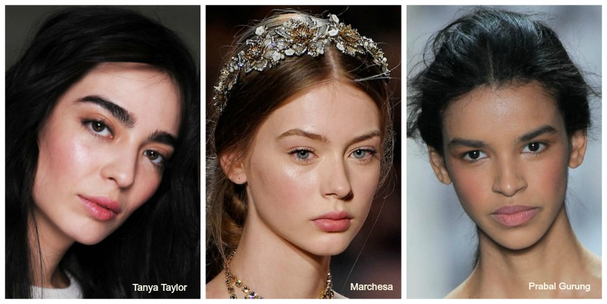 Fall '16 Makeup Trends Flushed cheeks
